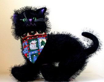 Cat Bandana Collar  Reversible  Cats Dogs