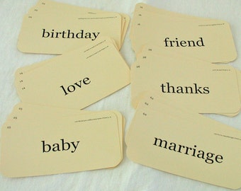 Flash Card Special Package