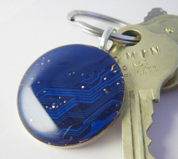 Blue Giant Circuit Keychain or Pendant
