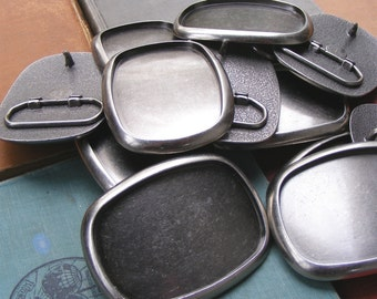 50 WHOLESALE Belt Buckle Blanks plus FREE SHIPPING