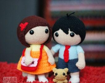 School Sweethearts Crochet Pattern