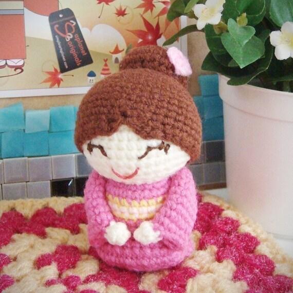 Items similar to hongtzu japanese mum amigurumi pattern on ...
