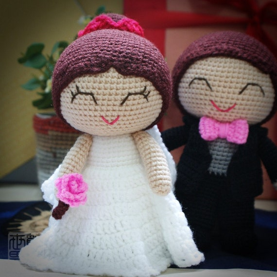 joe and shannon wedding dolls pattern (50% OFF - LIMITED TIME)