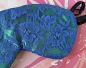 Luxury Silk Vintage Style Eye Mask Fully Adjustable