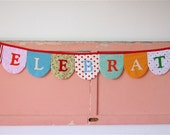 Celebrate Fabric Banner