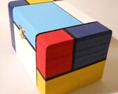 Mod Mondrian Box