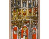 3 Doors silkscreen (Red doors)