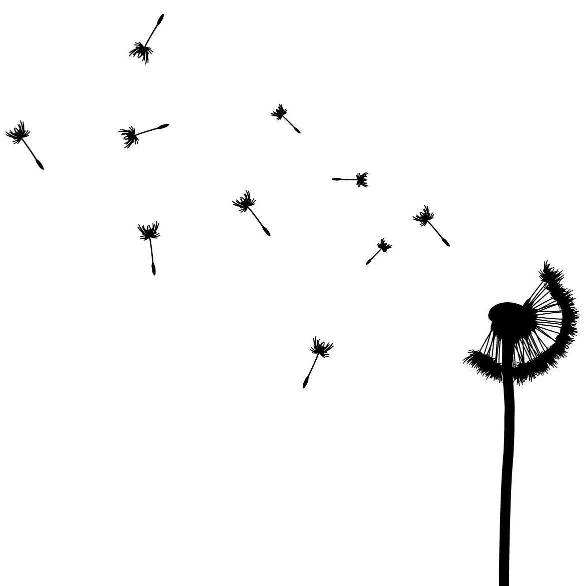 Blowing dandelion clip art - photo#24