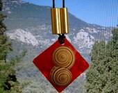 Swirl Pendant RESERVED For PRAIRIEDOG DO NOT BUY