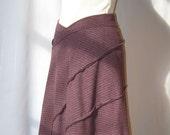 Skirt/Poncho (Plum)