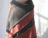 Skirt\/Poncho (Red and Black)