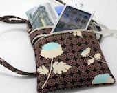 DIY - Happy Walking Double Zipper Case with TWO separate pockets Pattern Tutorial PDF instant download