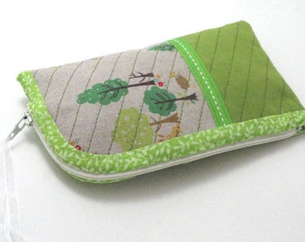 DIY My Little Forest Pouch,Iphone case, PDF Sewing pattern, Tutorial, Instant download