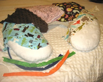 Custom Boppy Pillow Cover - You Choose the Fabric