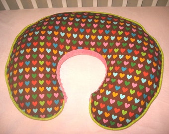 Boppy Pillow Cover - Hearts