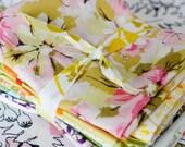 SALE - Vintage Sheet Rainbow Scrap Pack