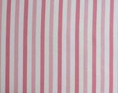 Vintage Sheet Fat Quarter - Pink Stripe
