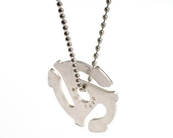 45 RPM adapter necklace