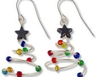 Merry Merry Christmas earrings