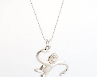 Barrel O Monkey necklace