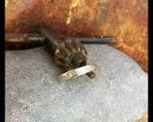 Half round ring.