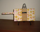 reserved for CARRIE...kelsey rose wristlet - yellow martini