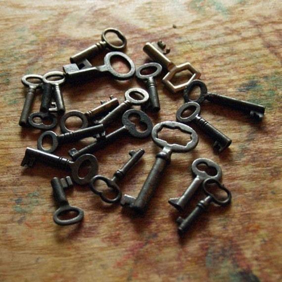 Fifteen Antique Keys - Custom