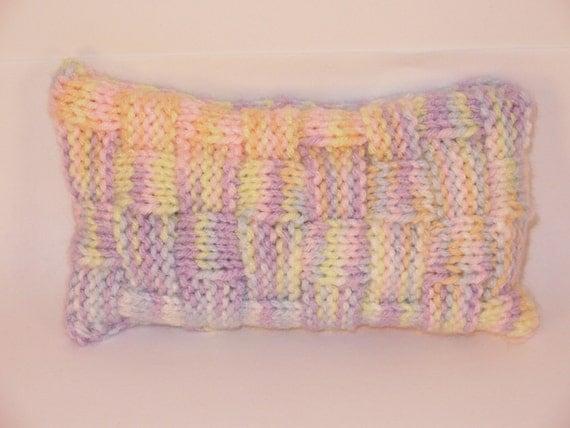 Mouse Size Bean Bag Wrist Elbow Rest Pastel Rainbow