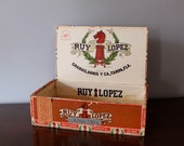 Vintage Cigar Box, Ruy Lopez, Tampa Florida