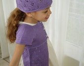 Tulip Lace Tunic & Hat PATTERN