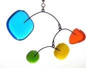 Rainbow Colors Glass Dancer