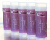 Lavender Lime Fennel All Natural Lip Balm - All Natural Lip Moisturizer