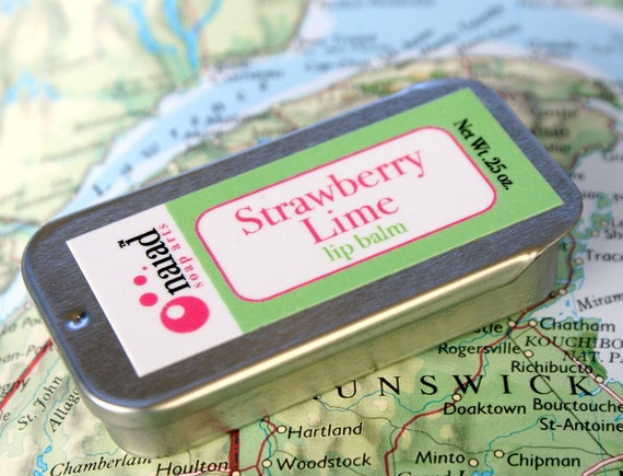 Strawberry Lime lip Balm