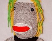 Punk Rock Sock Monkey