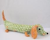 Sid the Weiner Dog Plush Dachshund