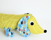 Childrens Plush Wiener Dog Stuffed Animal Toy Dachshund Doll STORMY