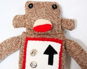 Sock Monkey Robot Plush Toy 4th in a Series