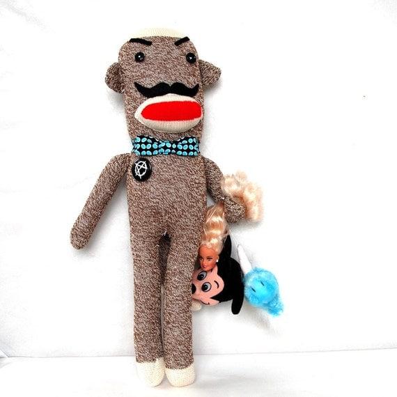 Devious Anarchy Sock Monkey
