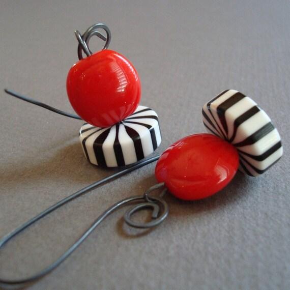 Burton. Earrings.