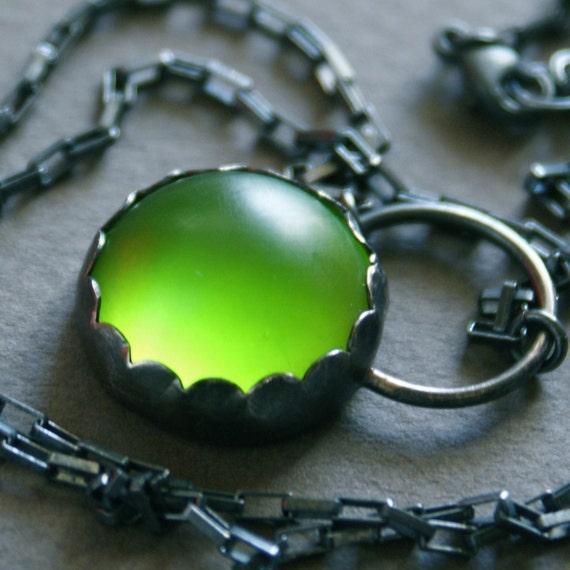 Absinthe. Necklace.