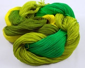 CITRUS LEMON LIME Handpainted 5-2 Cotton Yarn