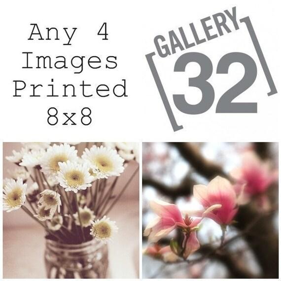 Fine Art Photography 4 8x8 Prints