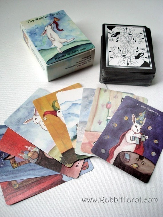Special - Second Edition Rabbit Tarot - Card Deck - Limited Number Available