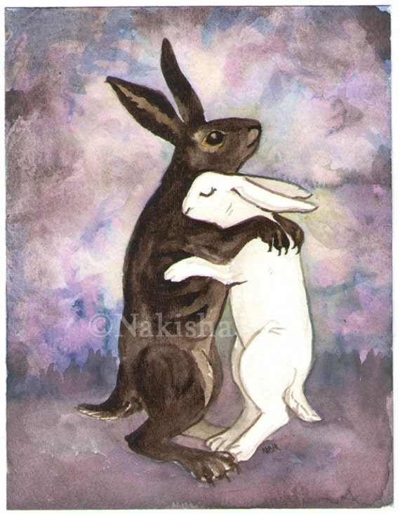 Death - The Rabbit Tarot - Limited Edition Fine Art Print