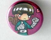 Naruto - Rock Lee Button