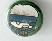 Metal Gear Solid - Old Snake Button