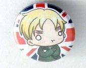 Chibi Anime Button: Hetalia - England