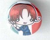 Chibi Anime Button: Hetalia - Italy