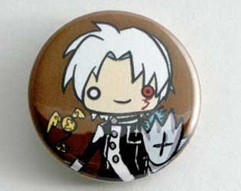 D. Gray Man - Allen Button
