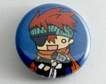 D. Gray Man - Lavi Button